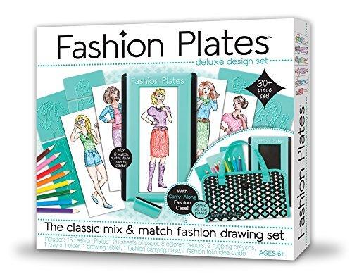Kahootz Various Fashion Plates Design Set by Kahootz