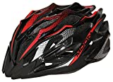 Cheap Moon Adult Bicycle Helmet Mtb/Road Bike Helmets Cycling Mountain Racing Adjustable Red abd Black Large