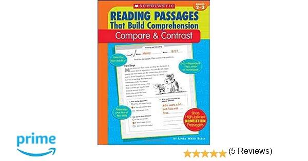 Amazon.com: Compare & Contrast (Reading Passages That Build ...