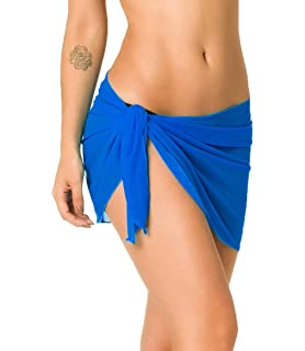 62045ae1ff Amazon.com  LHY Chiffon Cover up Swimwear Beach Short Sarong Wrap ...