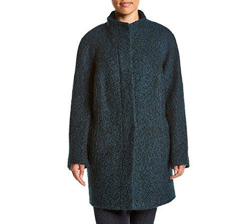 Boucle Plus Size Coat (Anne Klein Plus Size Raglan Sleeve Boucle Pant Coat)