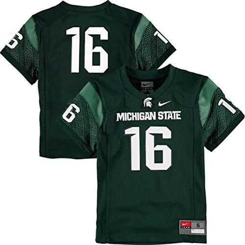 Michigan State Spartans Replica Football Jersey (OuterStuff NCAA Michigan State Spartans Toddler Football Jersey (2T))