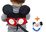 Baby Walking Safety Belt Is Suitable For Boys Or Girls Aged (1-3 years) At The Zoo, Disneyland Or Shopping Center. (Red baby)