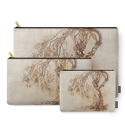 Society6 Hedgewitch Carry-All Pouch Set of 3