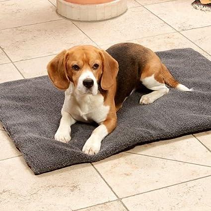 Karlie Fleecy Perros Fleece – Manta cama para perros Perros Cojín Polar Perros sofá gris
