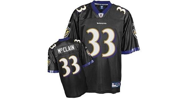 57210d4ca Amazon.com   Baltimore Ravens LeRon McClain   33 NFL Youth Replica Jersey ( Medium- Boys 8-20