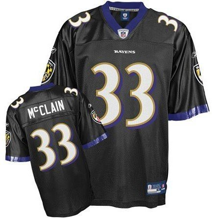 huge discount 1f5e6 17719 Amazon.com : Baltimore Ravens LeRon McClain # 33 NFL Youth ...