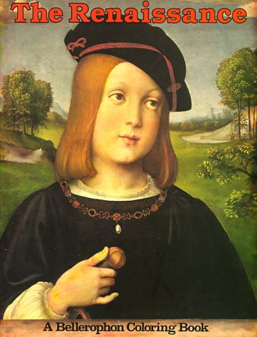 Renaissance Coloring Book  Bellerophon Coloring Book