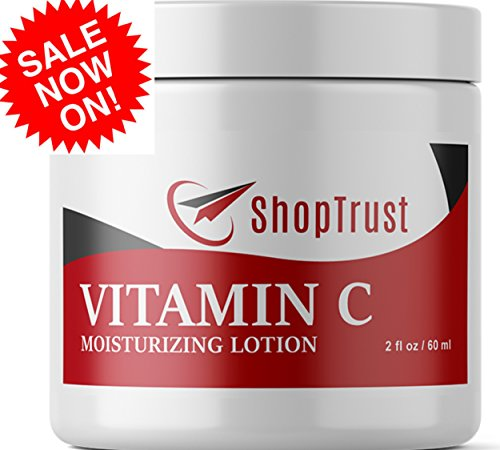 Best Moisturizer for Face, Neck & Décolleté for Anti-aging, Firming, Age-Spots, Wrinkles, Dark skin marks. Pure Natural Vitamin C with Hydraulic Acid. 2 fl. oz. DEAL OF THE WEEK => LIMITED TIME