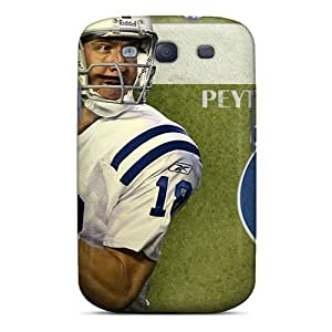 Galaxy S3 Kbk5482DrSj Unique Design Trendy Indianapolis Colts Image Shock Absorption Hard Phone Covers -cases-best-covers