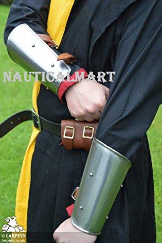 NAUTICALMART Medieval Steel Arm Bracer by NAUTICALMART