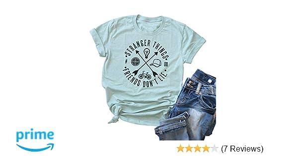 Ladies T-Shirt Dress Summer STAY WEIRD Funny Womens Fashion