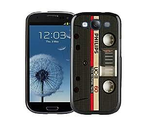 BINGO good review Audio Cassette Samsung Galaxy S3 i9300 Case Black Cover 3 by icecream design