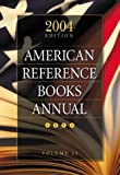 American Reference Books, , 1591581672