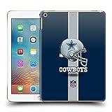 Official NFL Helmet Dallas Cowboys Logo Hard Back Case for iPad 9.7 2017 / iPad 9.7 2018