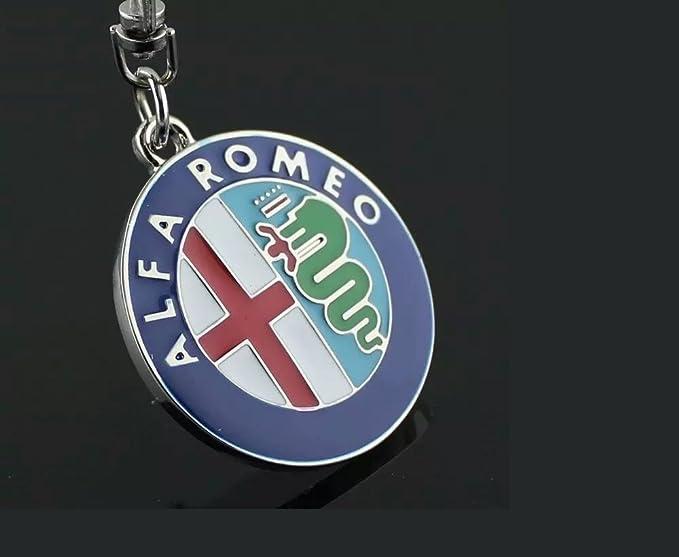 Auto llavero para Alfa Romeo Key Chain Key Ring: Amazon.es ...