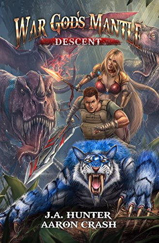 War God's Mantle: Descent: A litRPG Harem Adventure (The War God Saga Book 2) cover