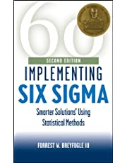 Implementing Six Sigma: Smarter Solutions Using Statistical Methods