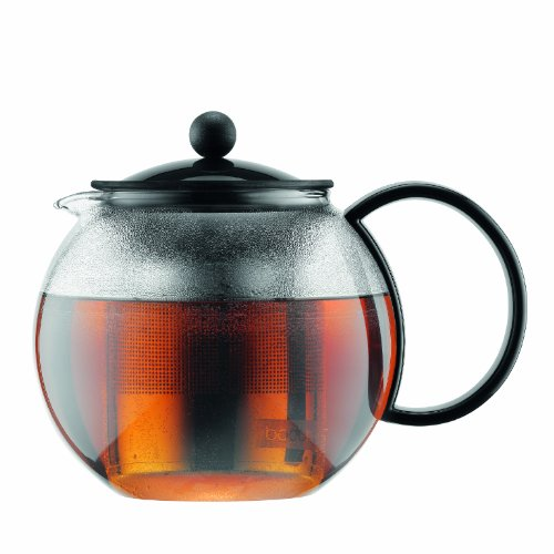 Bodum Assam Tea Press with Stainless Steel Filter, (Bodum Pot)