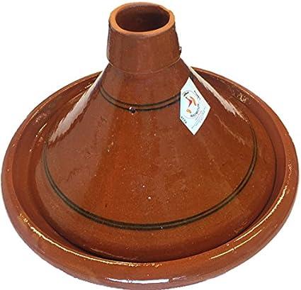 Marocain Grande Tajine De Cuisson ø 35 Cm Sans Plomb Amazon Fr Cuisine Maison