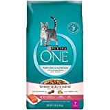 Purina O.N.E. Cat Food, Adult Total Nutrition, Salmon & Tuna, 7 lb (4 Pack)