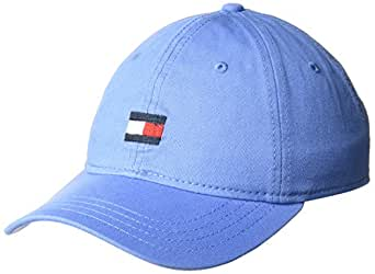 Tommy Hilfiger Men's Ardin Dad Baseball Cap, Bright Blue, One Size