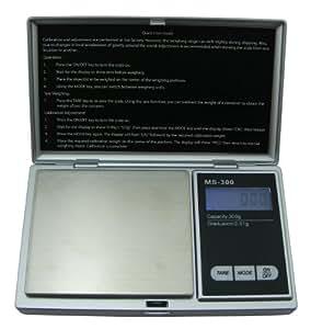 Weigh Masters Precision+ ProDigital Pocket Scale 100g x 0.01g (Silver)