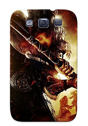 Galaxy S3 Case Cover - Slim Fit Tpu Protector Shock Absorbent Case (dragon Battle Axe) (Dragon Battleaxe)