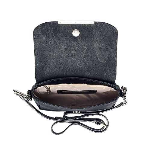 Bag Crossed Black Martini Material For Women Synthetic Alviero Black 6PqxawgnC