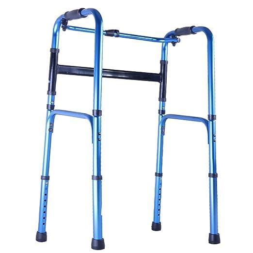WDOPZMS Anciano Que Camina Andador - Anciano Andador De Cuatro ...