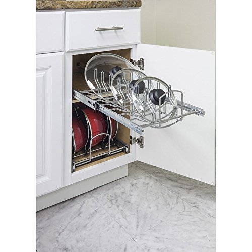 (Hardware Resources Pots and Pan Lid Organizer for 15