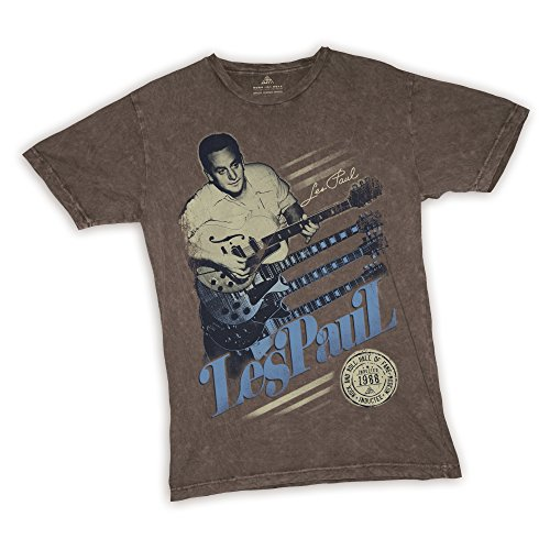 Les Paul - Rock and Roll Hall of Fame T-Shirt Size M