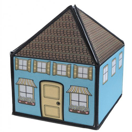 Felt Playhouse (My Little House Interactive 3D Felt Playhouse for early language and vocabulary development, 8 Colorful Rooms with 36 matching felt pieces)