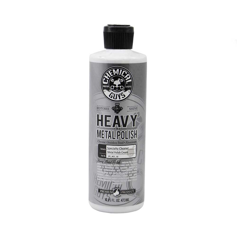 Chemical Guys SPI_402_16 Vintage Series Heavy Metal Polish (16 oz)