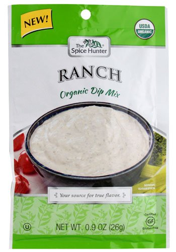 Spice Hunter Organic Dip Mix Ranch -- 0.9 oz - 2 pc