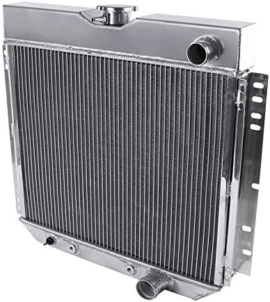 Spec-D Tuning V8 3 Core Manual Transmission 20 Passenger//Right Side Radiator for 1967-1970 Ford Mustang//Falcon