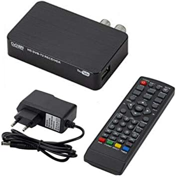 Decodificador TDT HD para grabar, reproducir y pausar la TV en directo en alta definición 1080p. Salida HDMI AV para antiguos y nuevos televisores (9,2 x 5,7 x 2 cm).: Amazon.es: Bricolaje