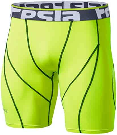 Tesla Men's Compression Shorts Baselayer Cool Dry Sports Tights MUS17/S17