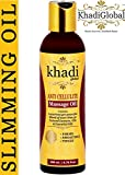 Khadi Global Anti Cellulite Slimming Massage Oil 200 ml With 31+ Powerful Natural Blend of Herbs, Extracts, Oils & Essential Oils With Cinnamon, Jaiphal, Black Pepper, Amarnath, Saunf and Juniper Oil review
