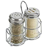 """American Metalcraft MGLCS Shakers and Tops, 4.9"""" Length x 5.65"""" Width, Clear"""