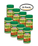 PACK OF 8 - Kraft 100% Real Parmesan Grated Cheese, 8 oz