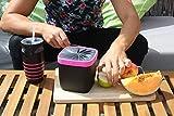 Neolid Lunchbox - Unique, Innovative, Stylish, Leak-Proof, Lidless Design - BPA Free (BOX Karlita)