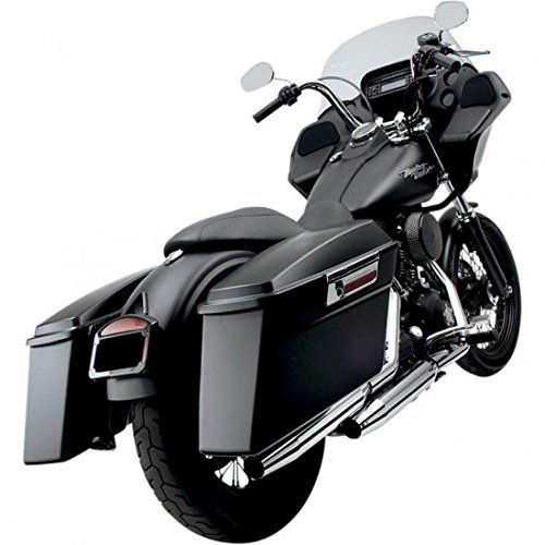- Cycle Visions Bagger-Tail Kit for Dyna - Black Bag Mounts CV7400B