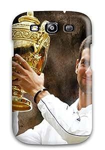 Galaxy S3 Case Bumper Tpu Skin Cover For Novak Djokovic Pictures Accessories