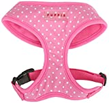 Puppia Dotty Harness A, X-Small, Pink