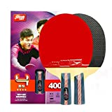 DHS Ping Pong Paddle 4007 Table Tennis Racket -Penhold with LANDSON Rubber Protector