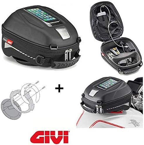 Givi ST602B Brida de conexi/ón Tanklock BF23 Compatible con Yamaha Tracer 900 GT 2018 Bolsa de dep/ósito
