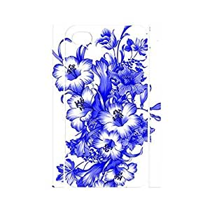TYH - Classic Chinese Style White and Blue Porcelain Pattern Handmade Hard Plastic Cover for Iphone 5/5s Case ending phone case