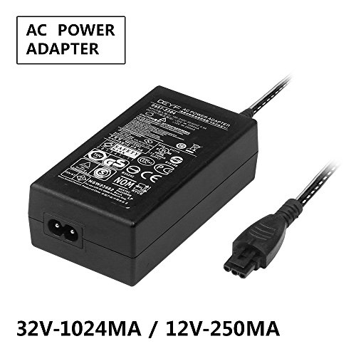 DEYF Printer 32V 1024mA /12V 250mA AC/DC Adapter 0957 2304 OfficeJet 6100 6700 Photosmart 7510 Power Supply for hp