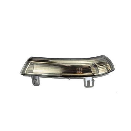 Lorjoy Retrovisor Exterior Dirección Dirección lámpara Intermitente Izquierdo Luz Lateral Derecho para VW Golf MK5 Jetta